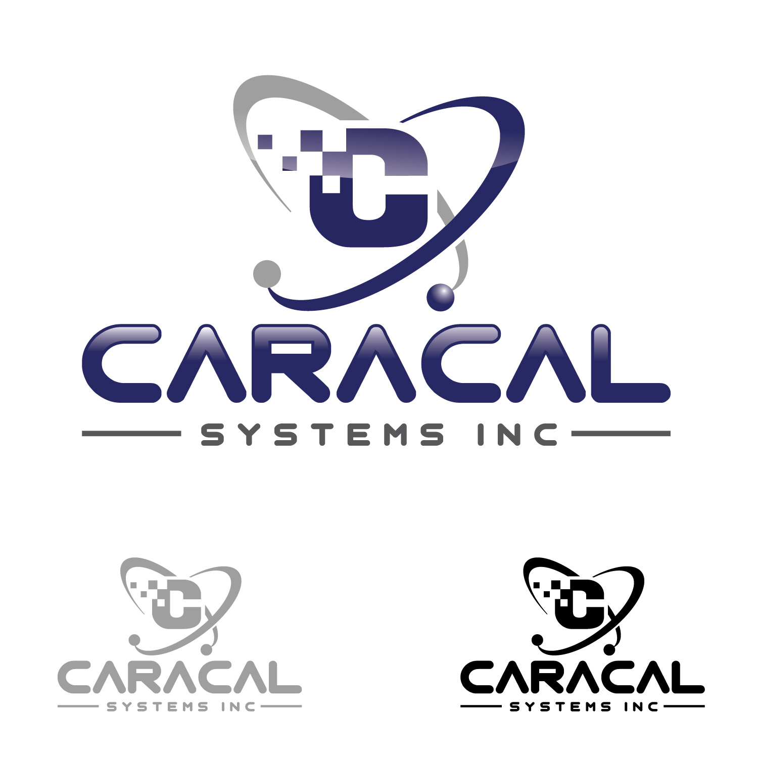 Logo Design by lagalag - Entry No. 124 in the Logo Design Contest Inspiring Logo Design for Caracal Systems Inc..