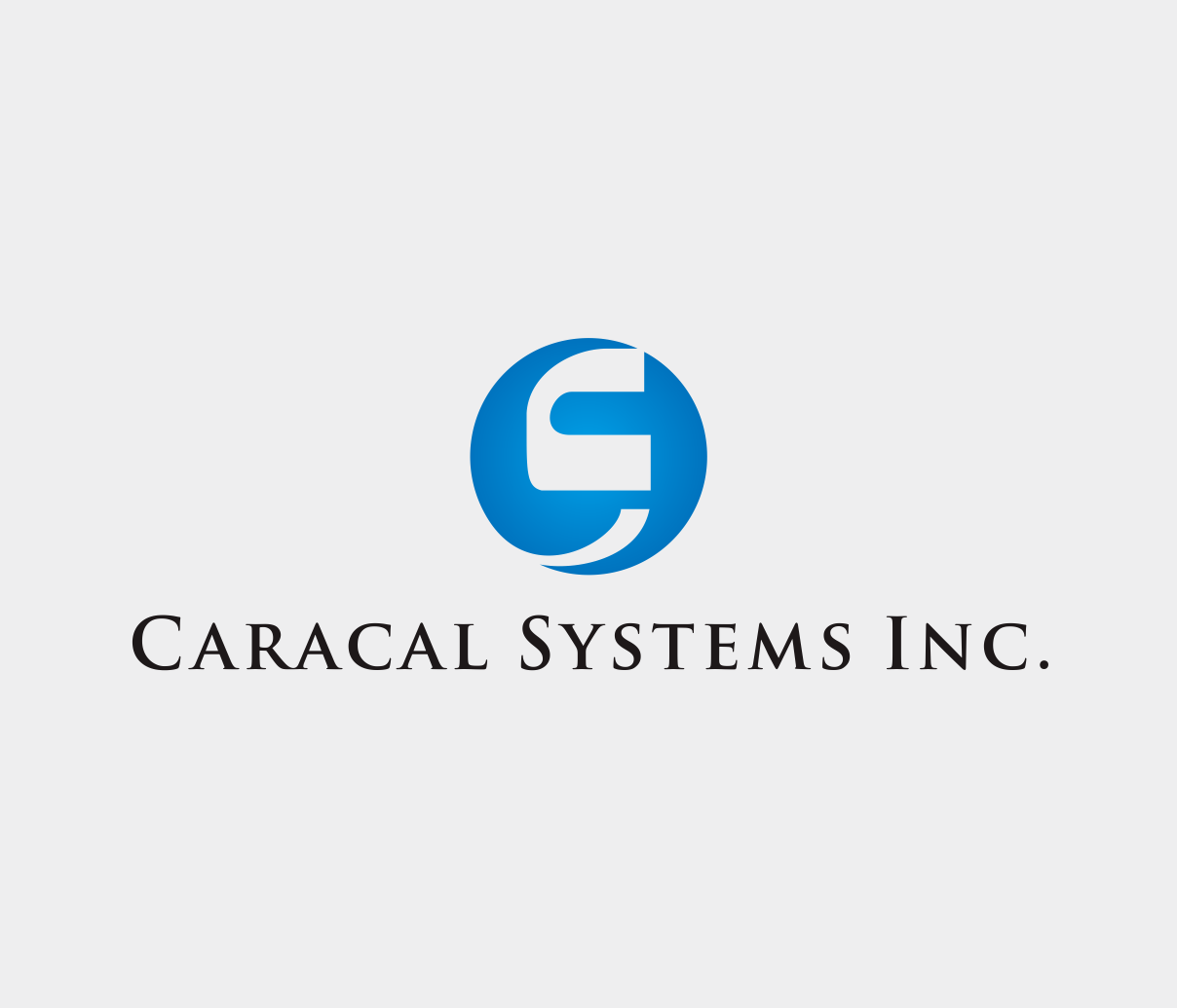 Logo Design by Armada Jamaluddin - Entry No. 126 in the Logo Design Contest Inspiring Logo Design for Caracal Systems Inc..