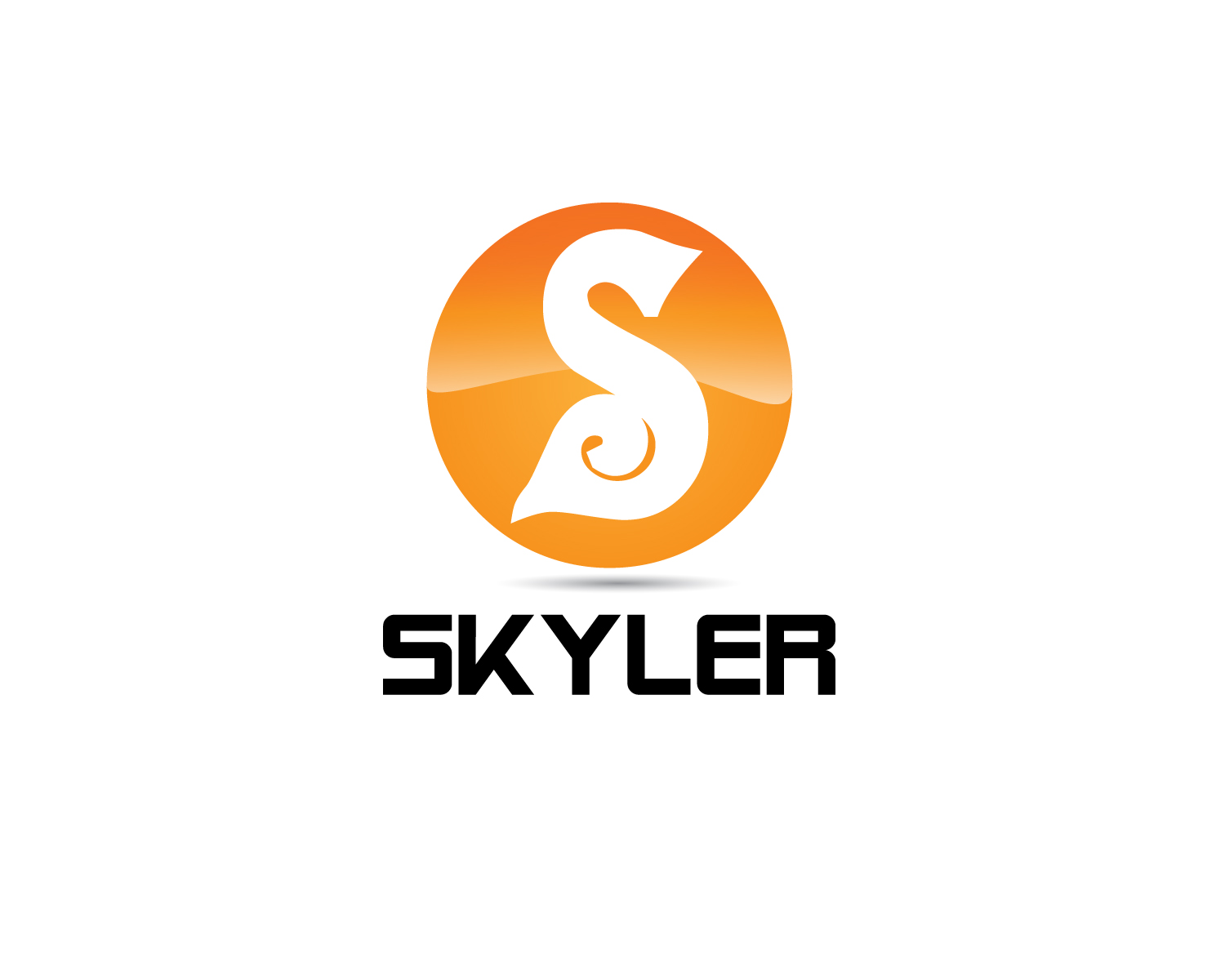 Logo Design by Jagdeep Singh - Entry No. 26 in the Logo Design Contest Artistic Logo Design for Skyler.Asia.