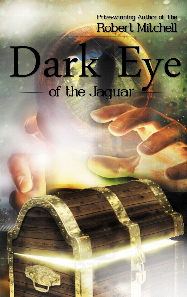 Book Cover Design by Private User - Entry No. 112 in the Book Cover Design Contest Imaginative Book Cover Design for Dark Eye of the Jaguar.