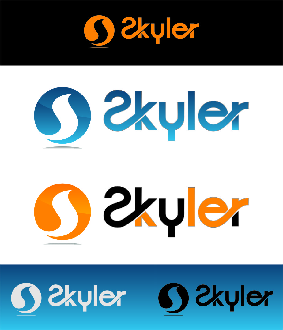 Logo Design by Ngepet_art - Entry No. 54 in the Logo Design Contest Artistic Logo Design for Skyler.Asia.