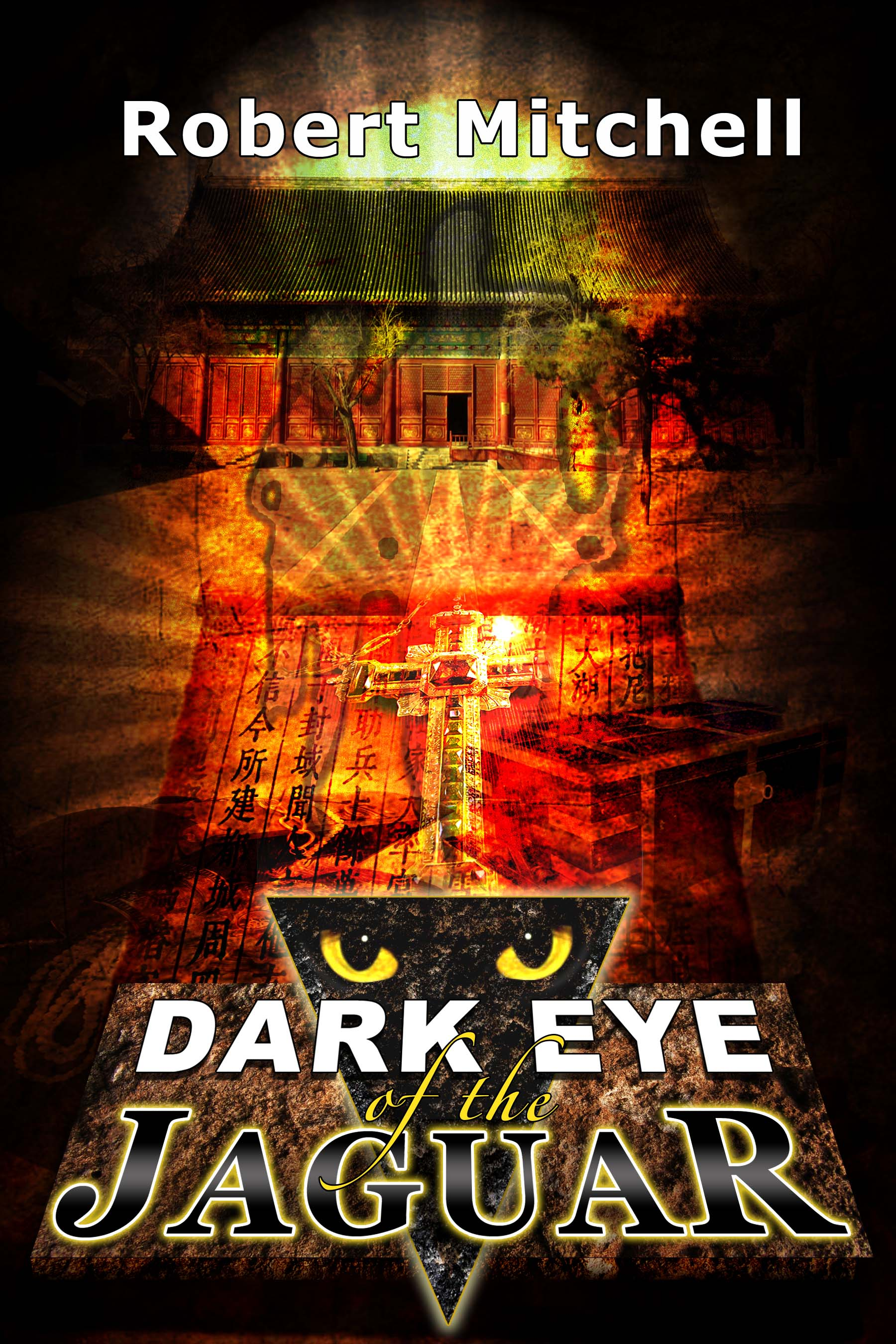 Book Cover Design by joca - Entry No. 113 in the Book Cover Design Contest Imaginative Book Cover Design for Dark Eye of the Jaguar.