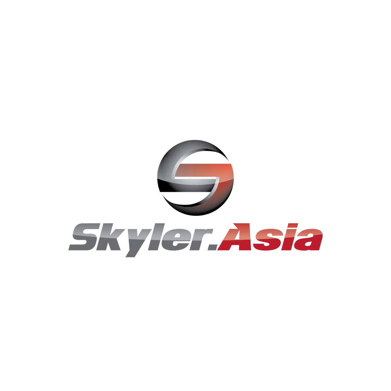 Logo Design by lagalag - Entry No. 62 in the Logo Design Contest Artistic Logo Design for Skyler.Asia.