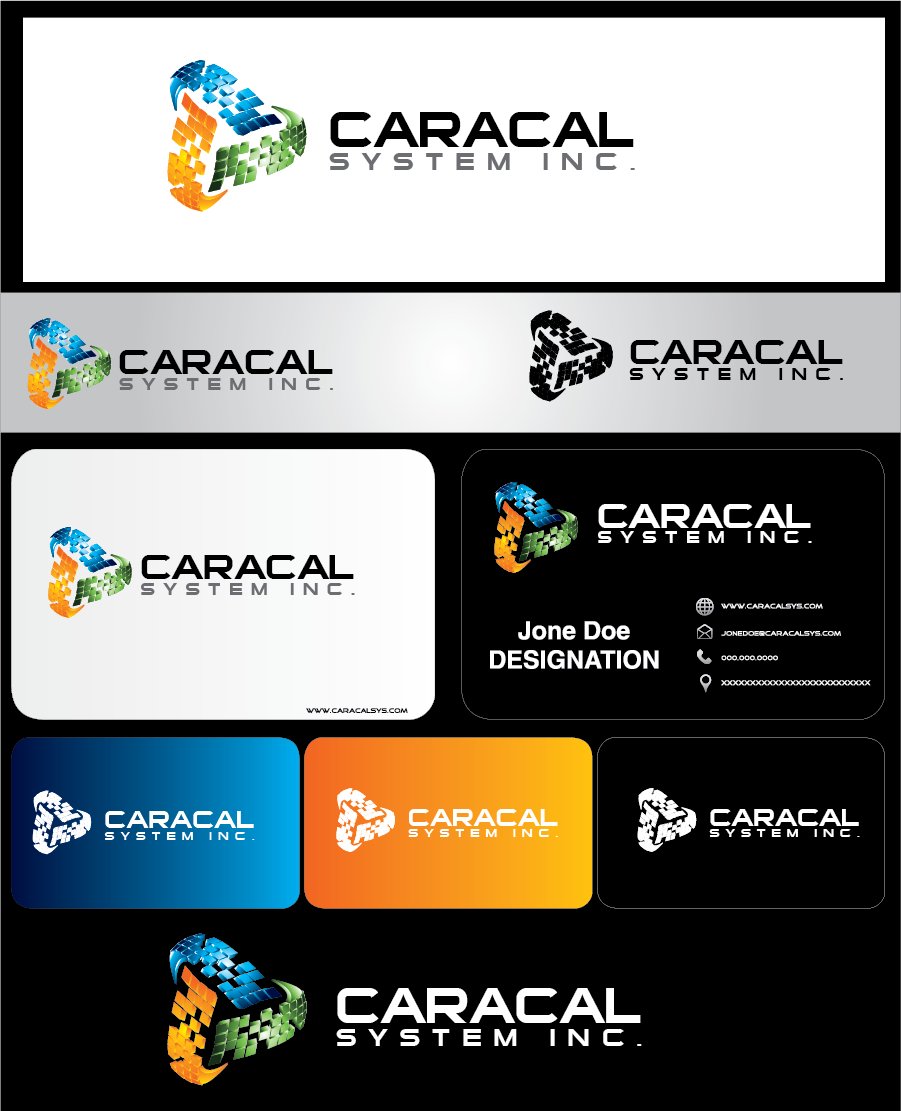 Logo Design by Private User - Entry No. 159 in the Logo Design Contest Inspiring Logo Design for Caracal Systems Inc..
