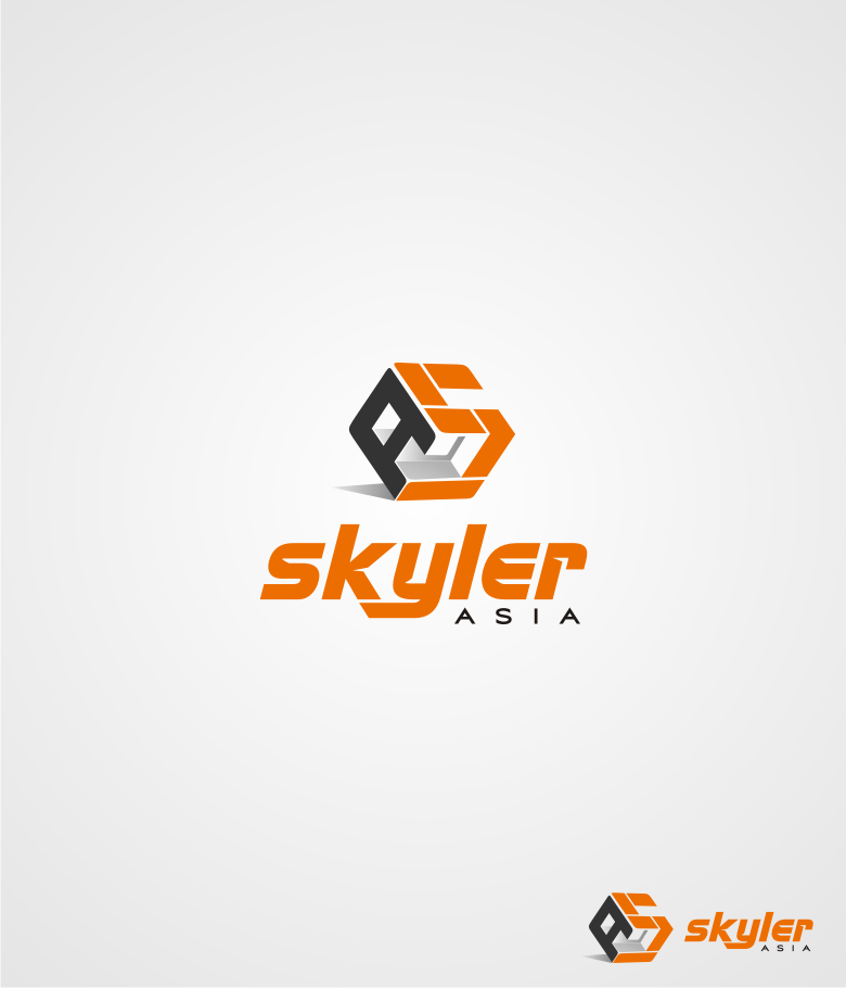 Logo Design by graphicleaf - Entry No. 74 in the Logo Design Contest Artistic Logo Design for Skyler.Asia.