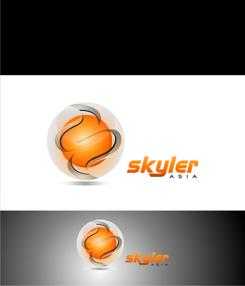 Logo Design by graphicleaf - Entry No. 75 in the Logo Design Contest Artistic Logo Design for Skyler.Asia.