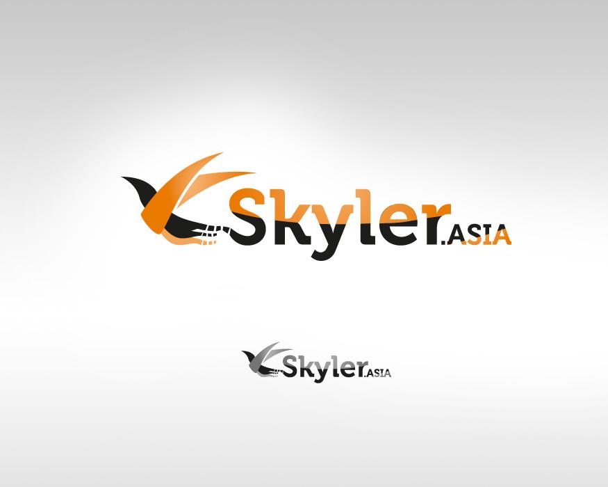 Logo Design by mungom - Entry No. 76 in the Logo Design Contest Artistic Logo Design for Skyler.Asia.