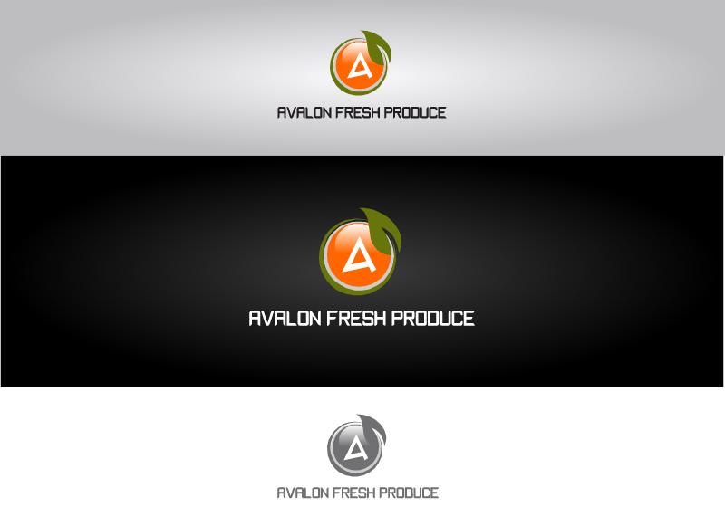 Logo Design by Tathastu Sharma - Entry No. 31 in the Logo Design Contest Unique Logo Design Wanted for Avalon Fresh Produce.