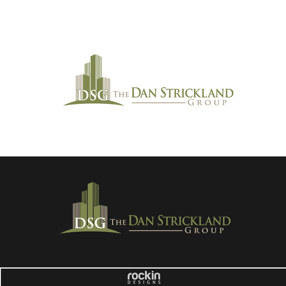 Logo Design by rockin - Entry No. 3 in the Logo Design Contest Creative Logo Design for The Dan Strickland Group.