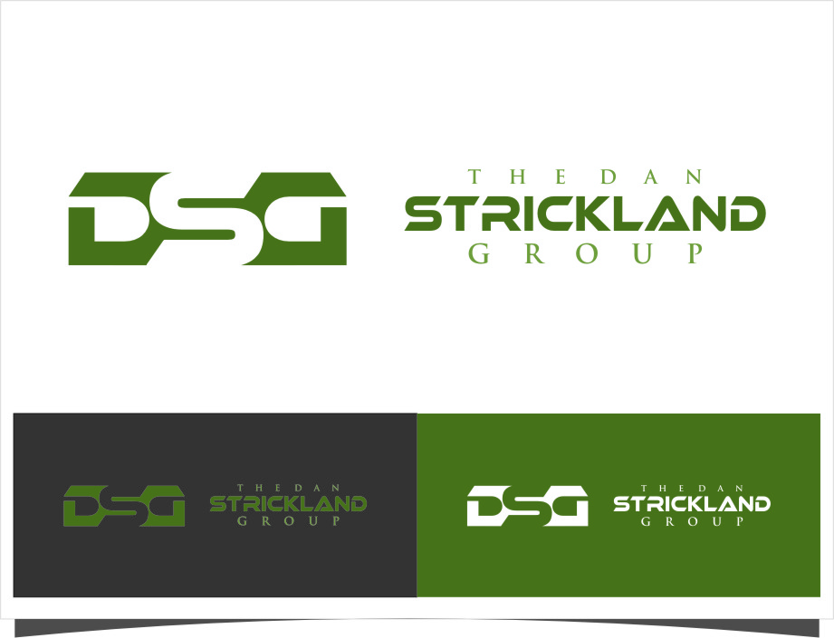 Logo Design by RasYa Muhammad Athaya - Entry No. 7 in the Logo Design Contest Creative Logo Design for The Dan Strickland Group.