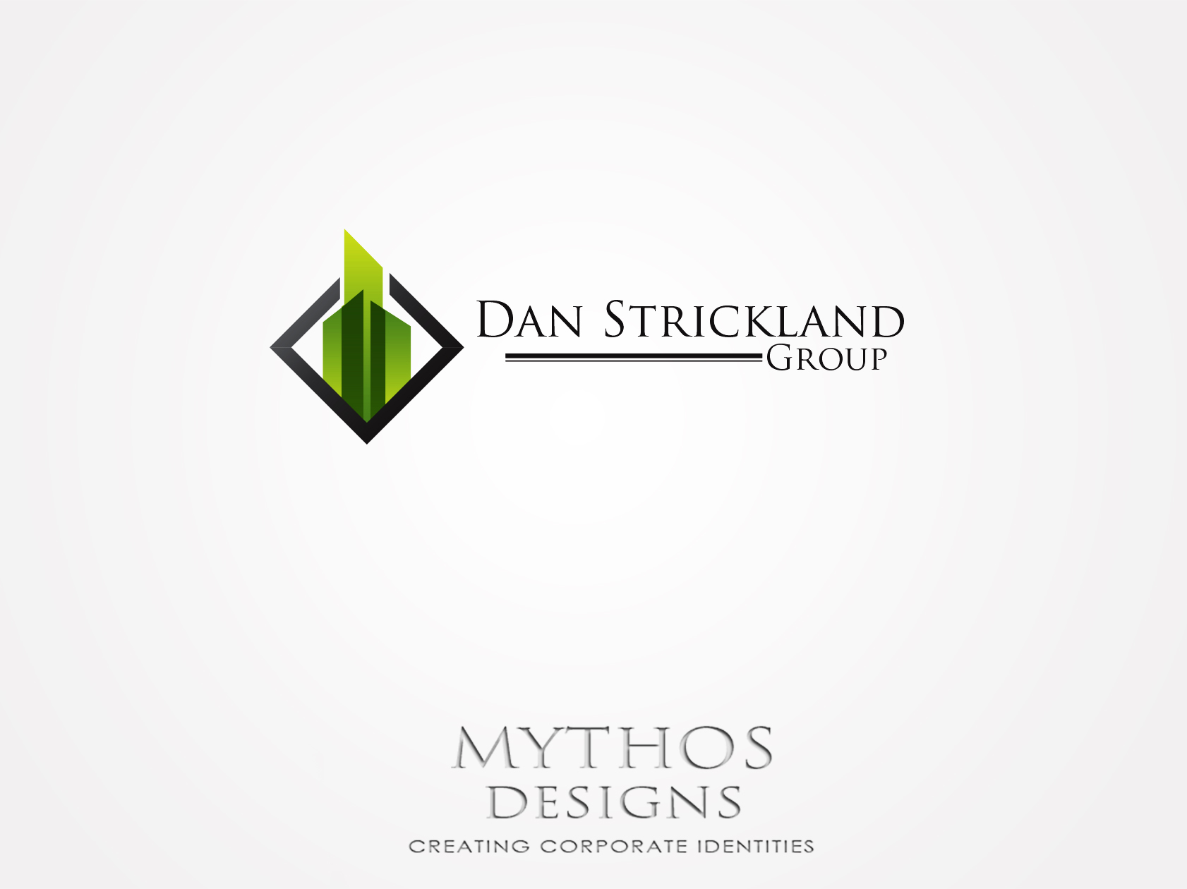 Logo Design by Mythos Designs - Entry No. 8 in the Logo Design Contest Creative Logo Design for The Dan Strickland Group.