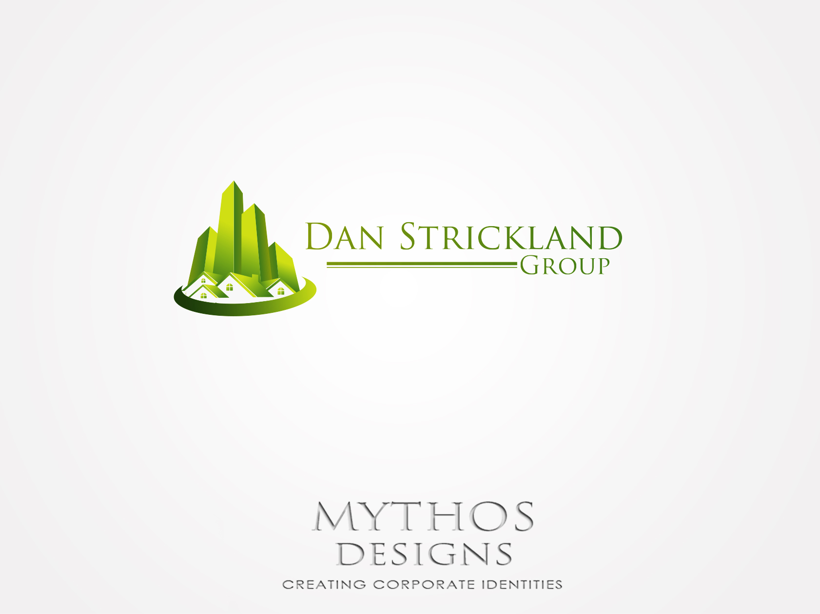 Logo Design by Mythos Designs - Entry No. 9 in the Logo Design Contest Creative Logo Design for The Dan Strickland Group.