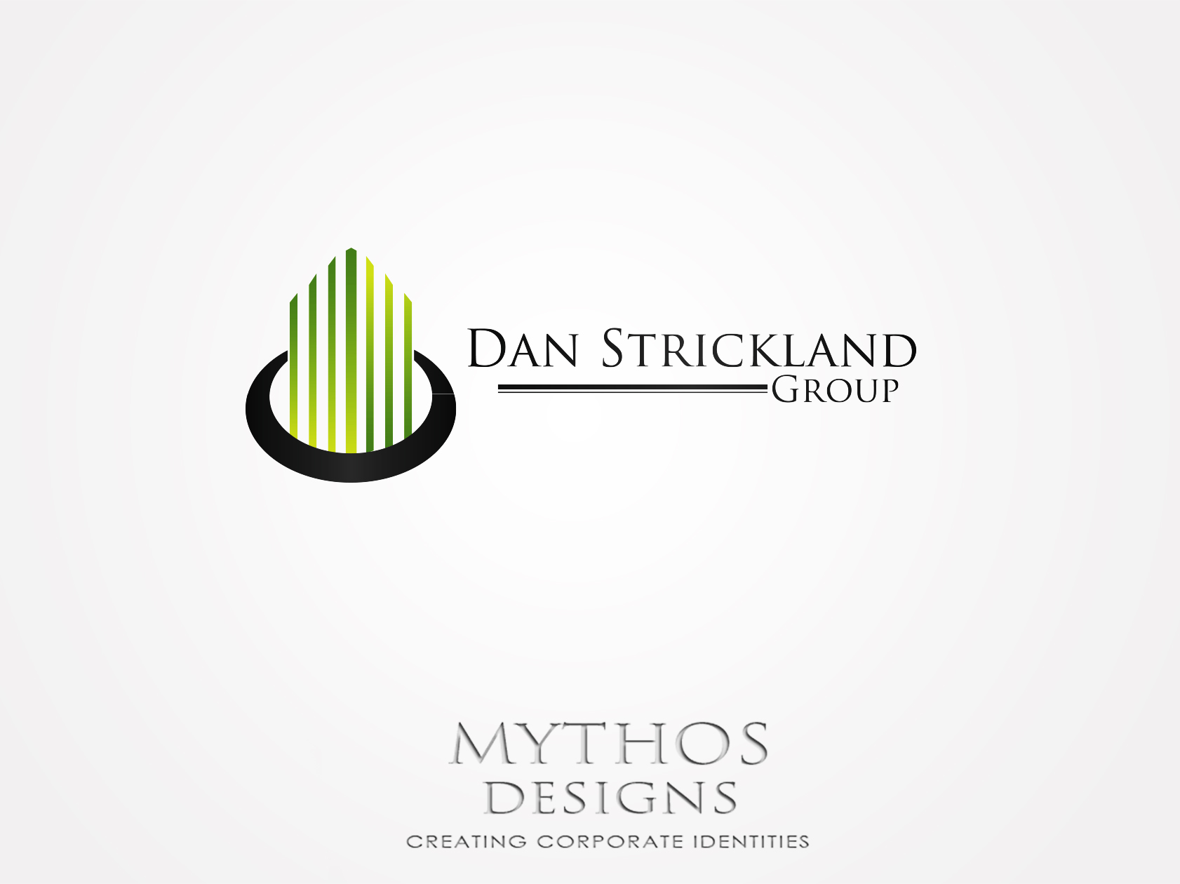Logo Design by Mythos Designs - Entry No. 10 in the Logo Design Contest Creative Logo Design for The Dan Strickland Group.