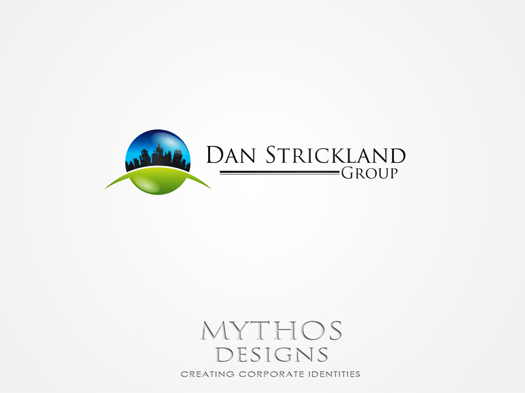 Logo Design by Mythos Designs - Entry No. 11 in the Logo Design Contest Creative Logo Design for The Dan Strickland Group.