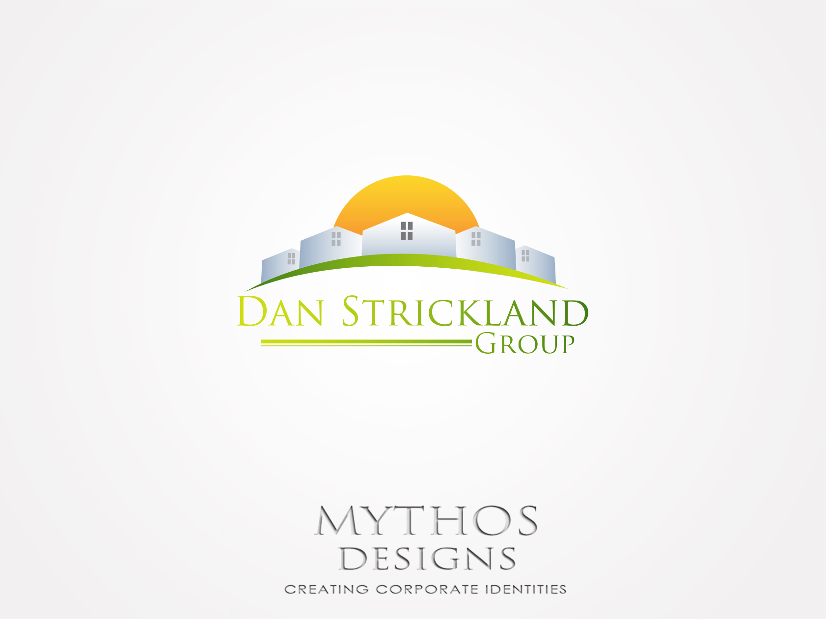 Logo Design by Mythos Designs - Entry No. 12 in the Logo Design Contest Creative Logo Design for The Dan Strickland Group.