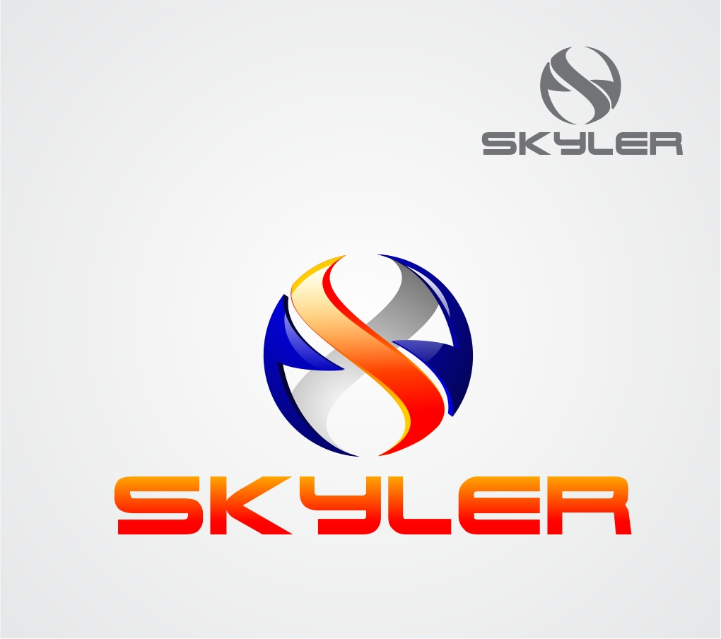 Logo Design by Reivan Ferdinan - Entry No. 89 in the Logo Design Contest Artistic Logo Design for Skyler.Asia.