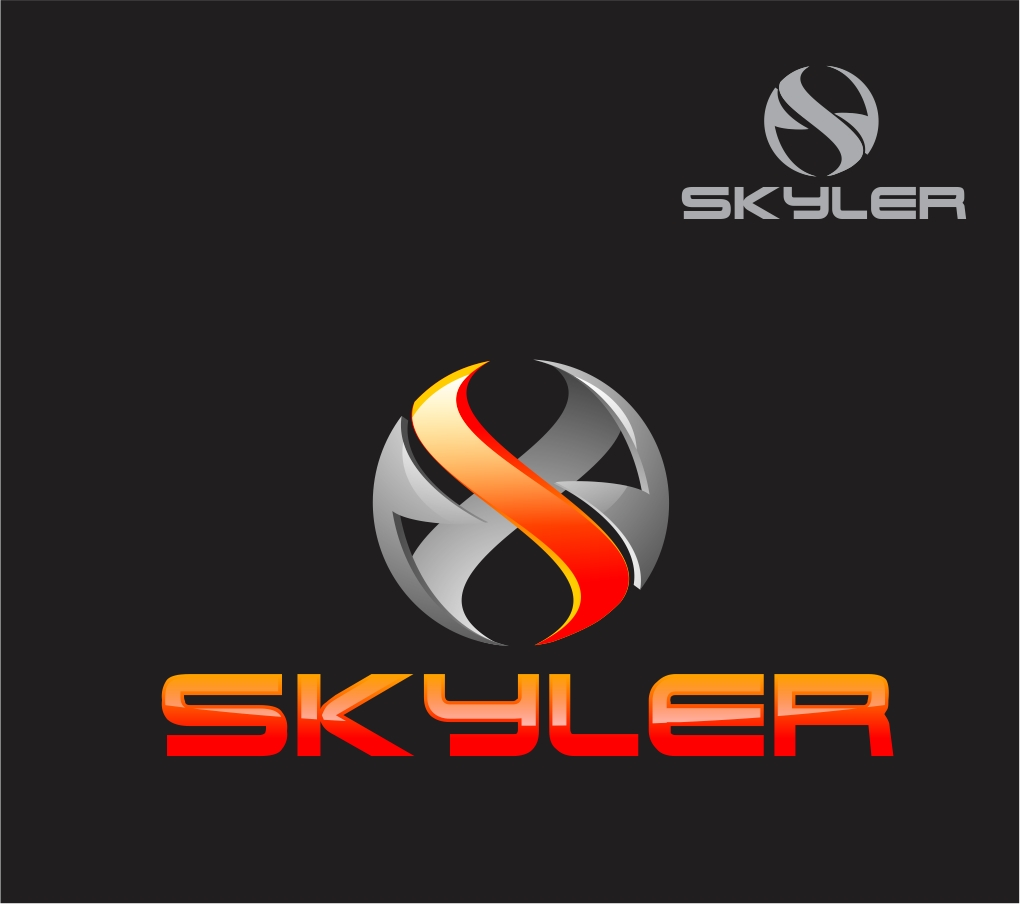 Logo Design by Reivan Ferdinan - Entry No. 90 in the Logo Design Contest Artistic Logo Design for Skyler.Asia.