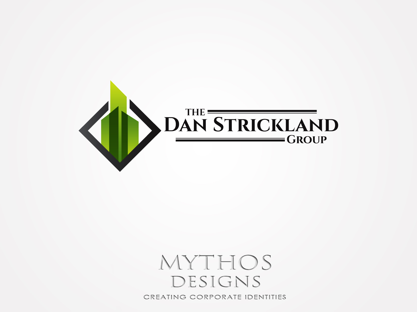 Logo Design by Mythos Designs - Entry No. 14 in the Logo Design Contest Creative Logo Design for The Dan Strickland Group.