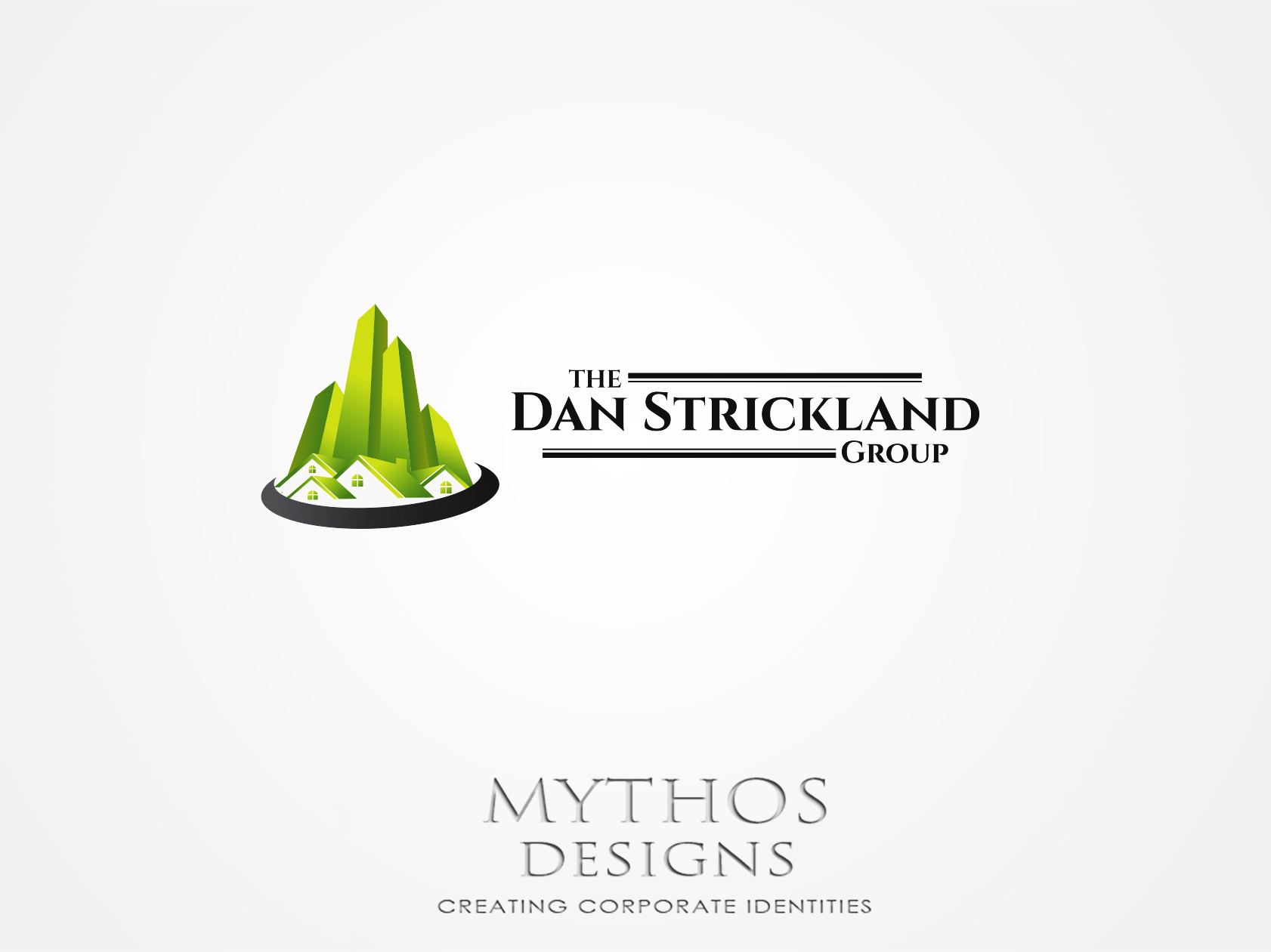 Logo Design by Mythos Designs - Entry No. 15 in the Logo Design Contest Creative Logo Design for The Dan Strickland Group.