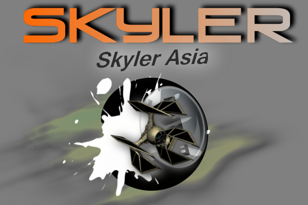 Logo Design by Ron Grubbs - Entry No. 93 in the Logo Design Contest Artistic Logo Design for Skyler.Asia.