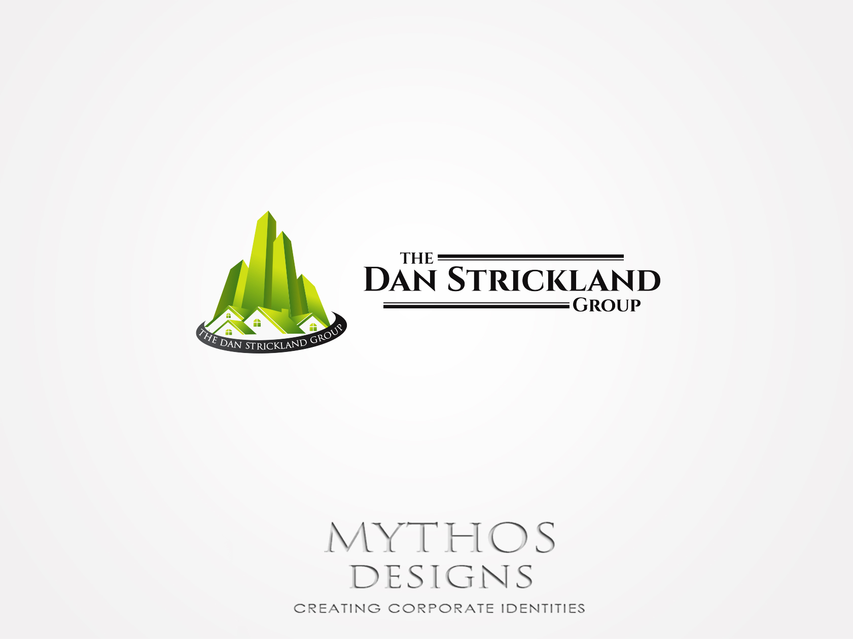Logo Design by Mythos Designs - Entry No. 16 in the Logo Design Contest Creative Logo Design for The Dan Strickland Group.