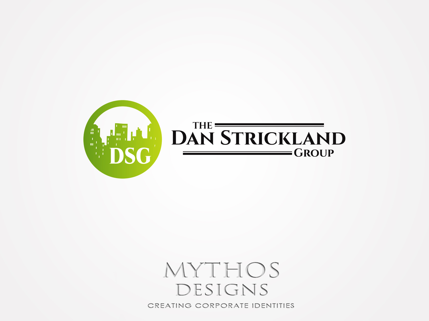 Logo Design by Mythos Designs - Entry No. 17 in the Logo Design Contest Creative Logo Design for The Dan Strickland Group.