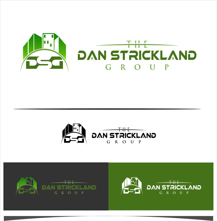 Logo Design by Ngepet_art - Entry No. 20 in the Logo Design Contest Creative Logo Design for The Dan Strickland Group.