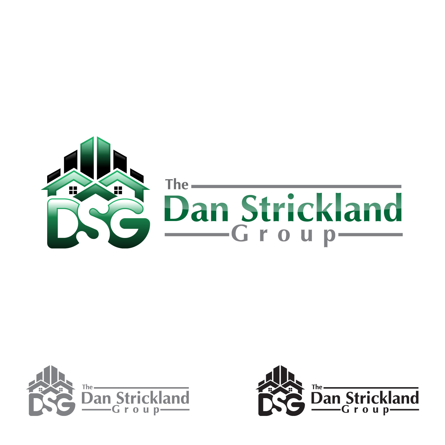Logo Design by lagalag - Entry No. 21 in the Logo Design Contest Creative Logo Design for The Dan Strickland Group.