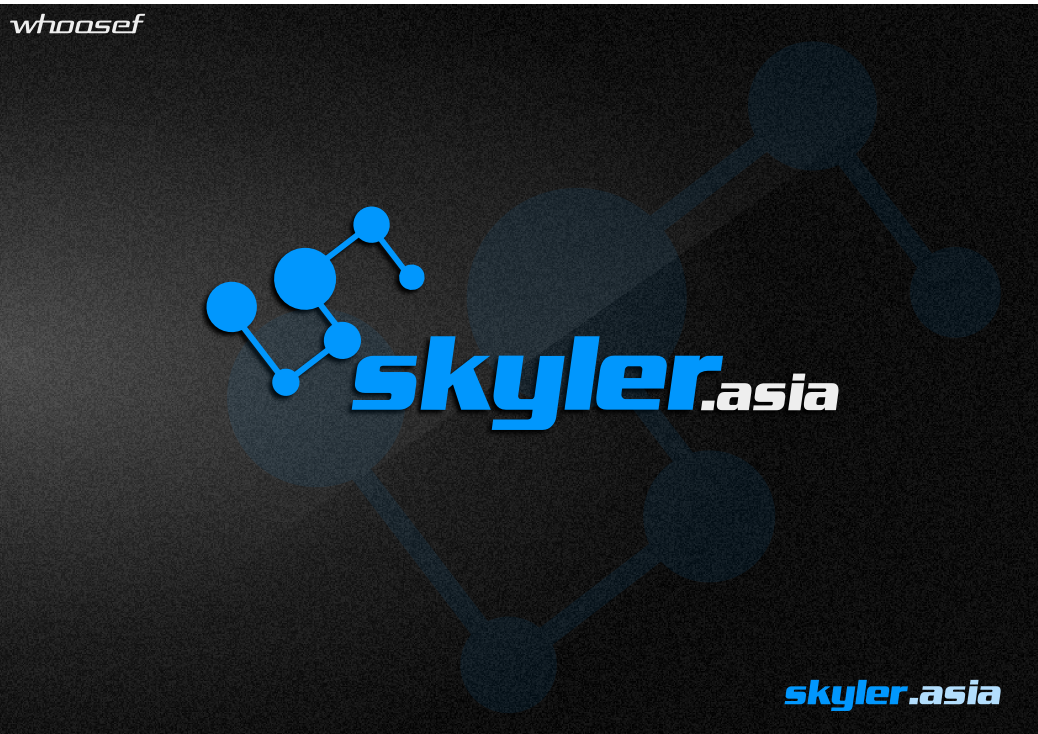Logo Design by whoosef - Entry No. 95 in the Logo Design Contest Artistic Logo Design for Skyler.Asia.