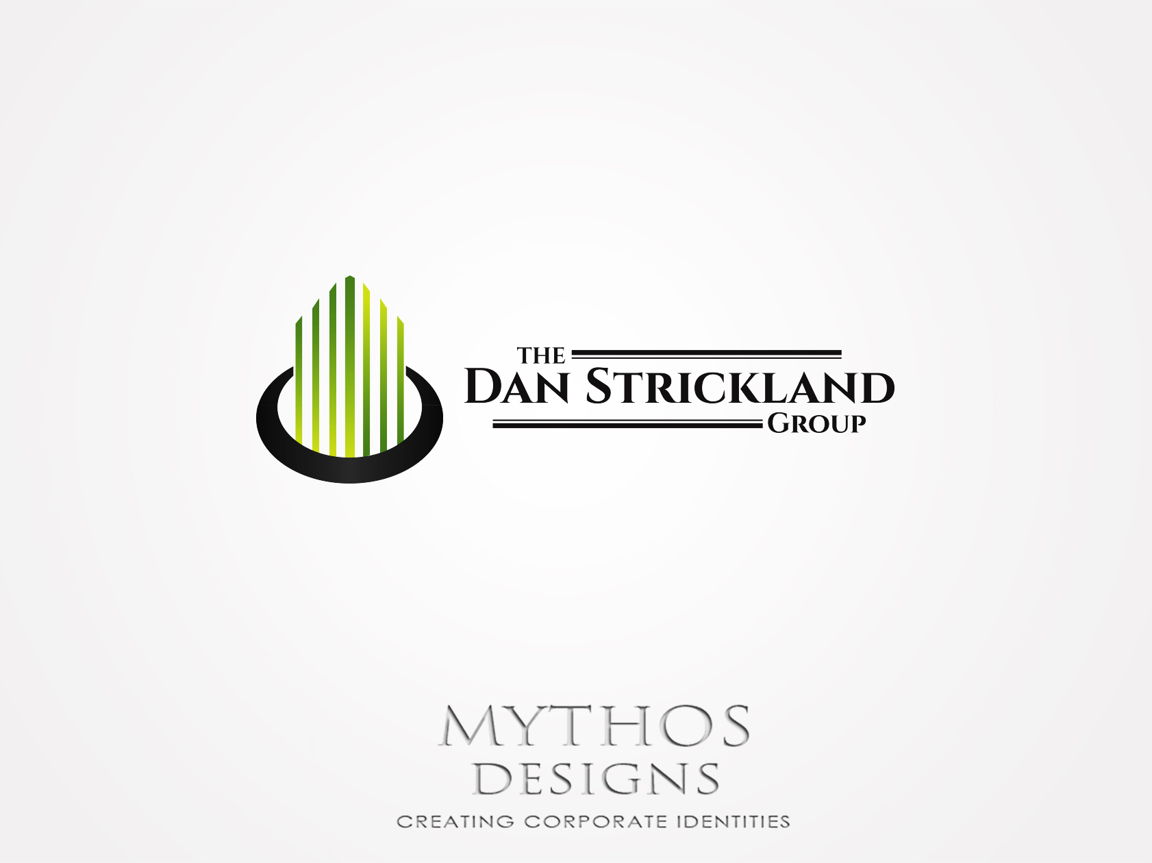 Logo Design by Mythos Designs - Entry No. 25 in the Logo Design Contest Creative Logo Design for The Dan Strickland Group.