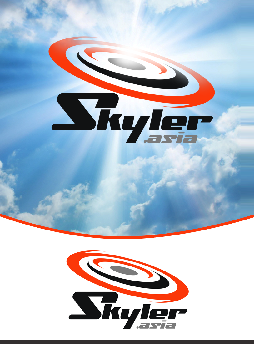 Logo Design by Private User - Entry No. 113 in the Logo Design Contest Artistic Logo Design for Skyler.Asia.