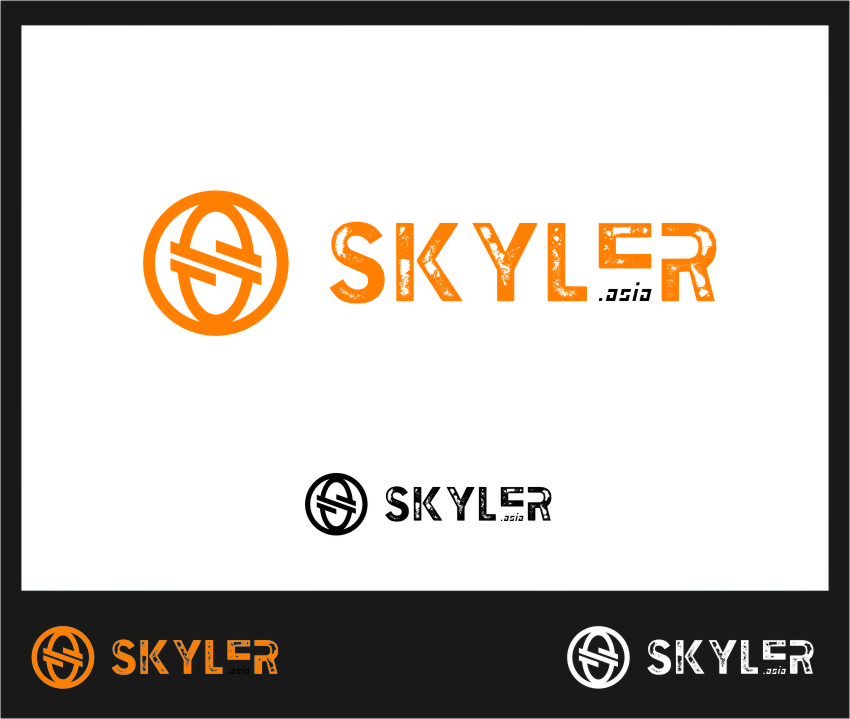 Logo Design by Ngepet_art - Entry No. 119 in the Logo Design Contest Artistic Logo Design for Skyler.Asia.