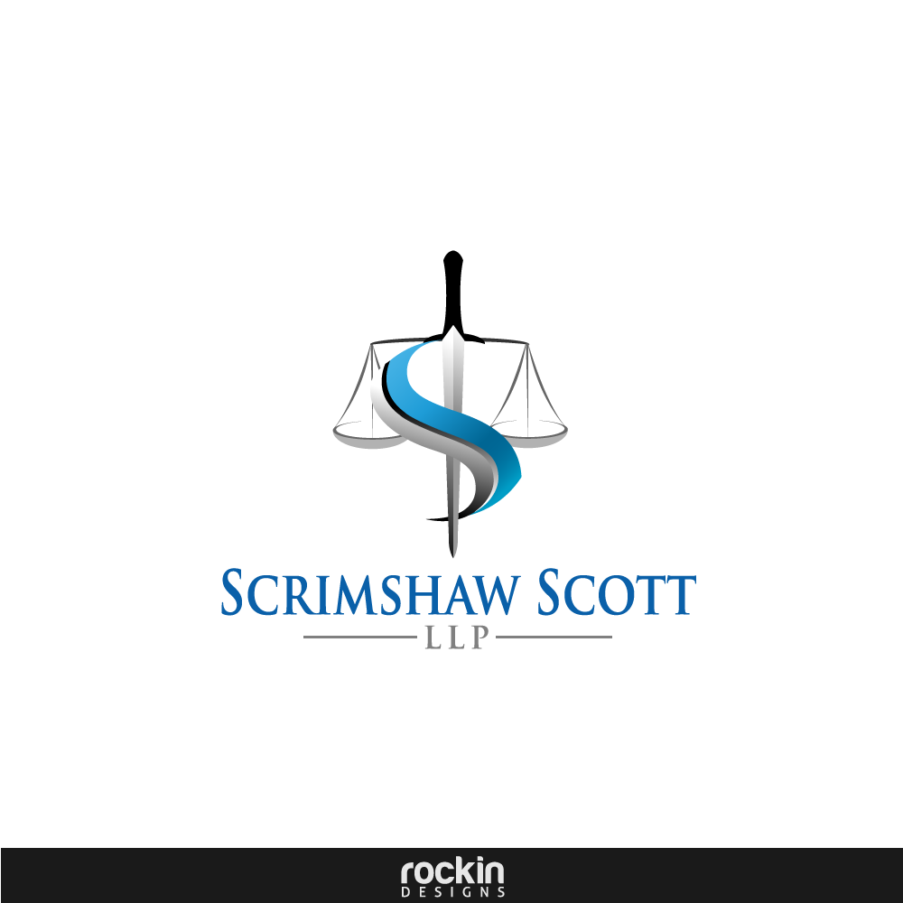 Logo Design by rockin - Entry No. 4 in the Logo Design Contest Creative Logo Design for Scrimshaw Scott LLP.