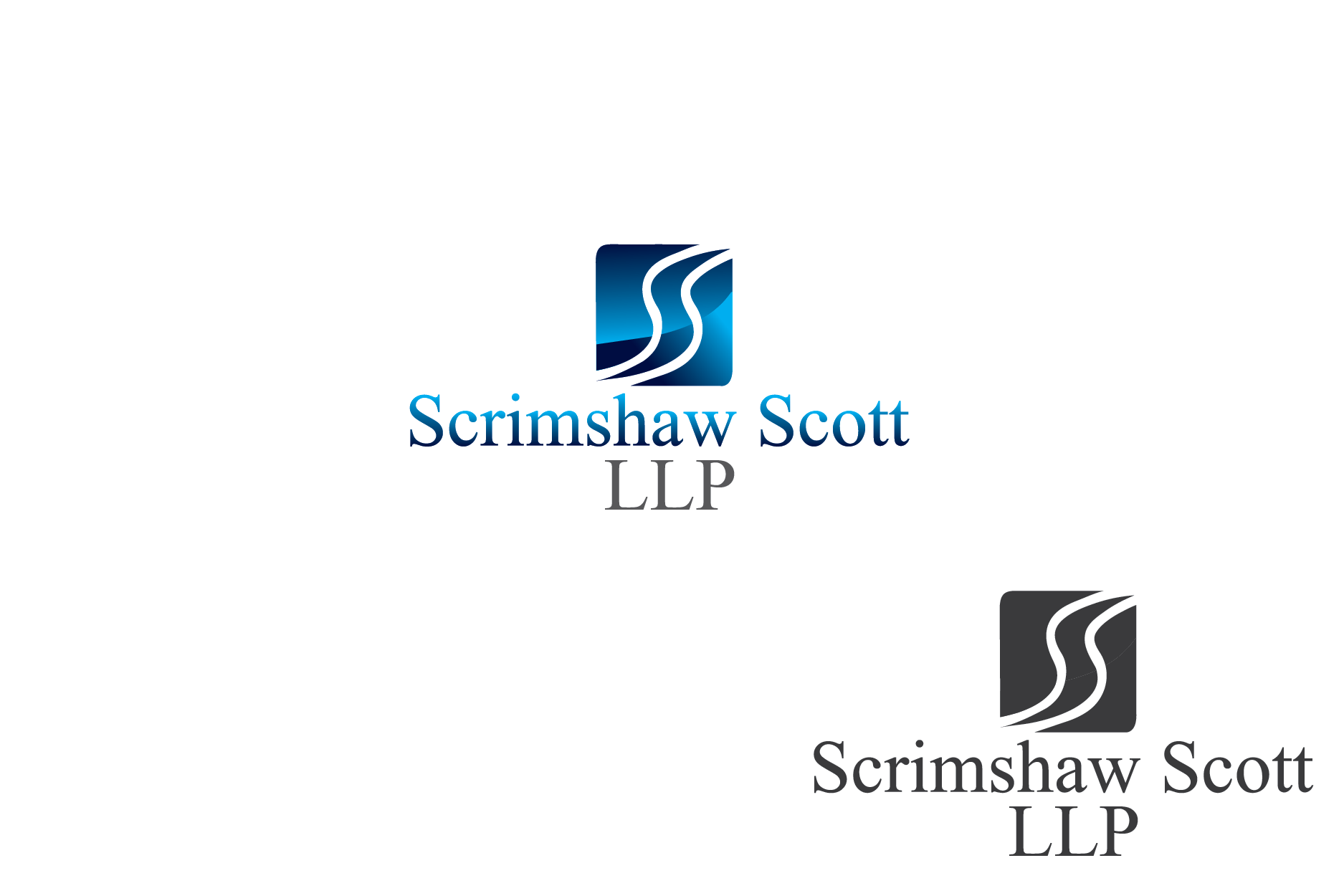 Logo Design by Private User - Entry No. 6 in the Logo Design Contest Creative Logo Design for Scrimshaw Scott LLP.