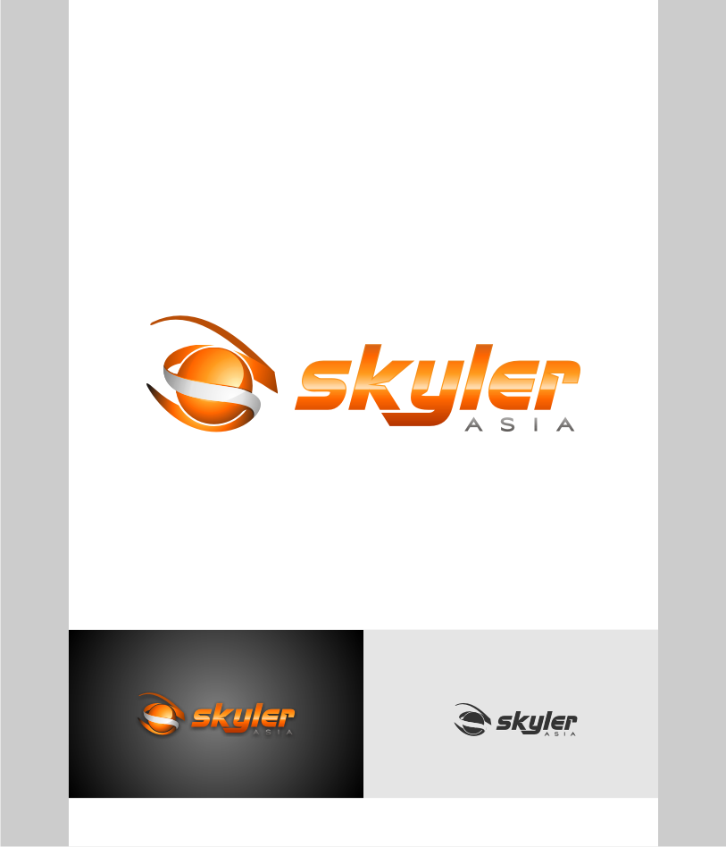 Logo Design by graphicleaf - Entry No. 140 in the Logo Design Contest Artistic Logo Design for Skyler.Asia.
