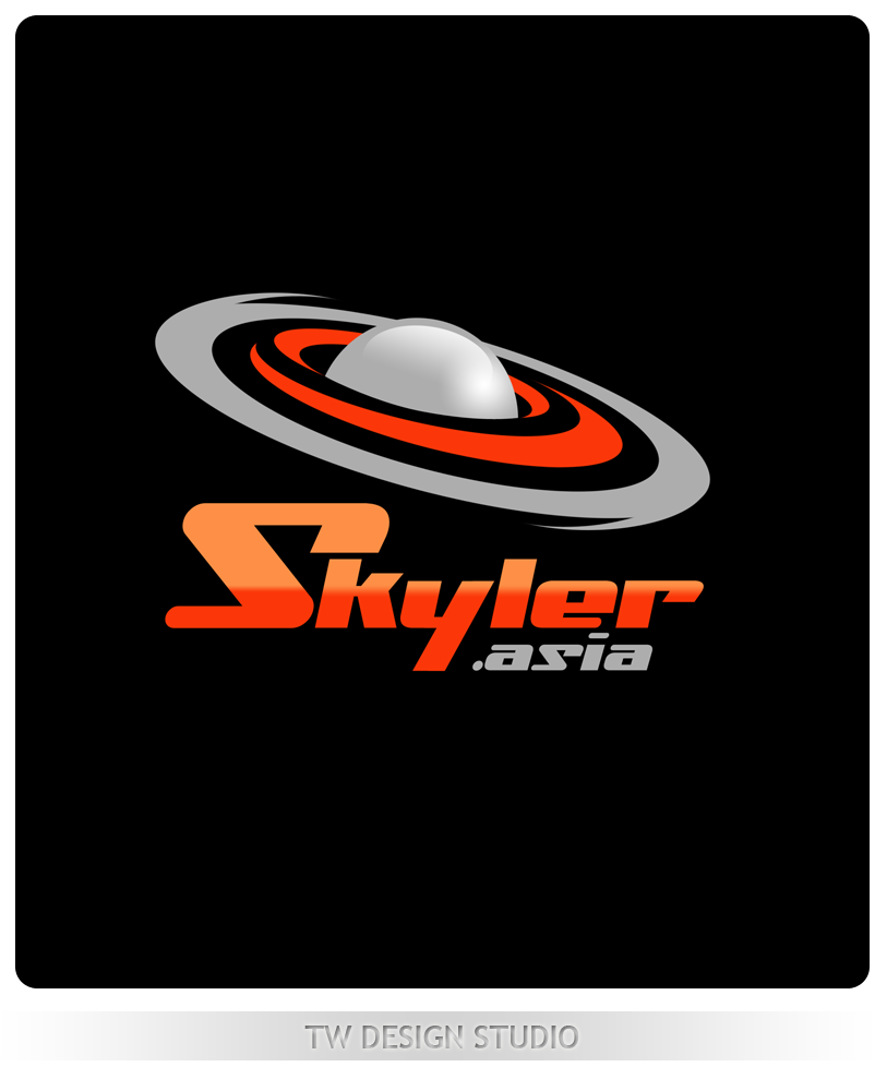 Logo Design by Private User - Entry No. 143 in the Logo Design Contest Artistic Logo Design for Skyler.Asia.