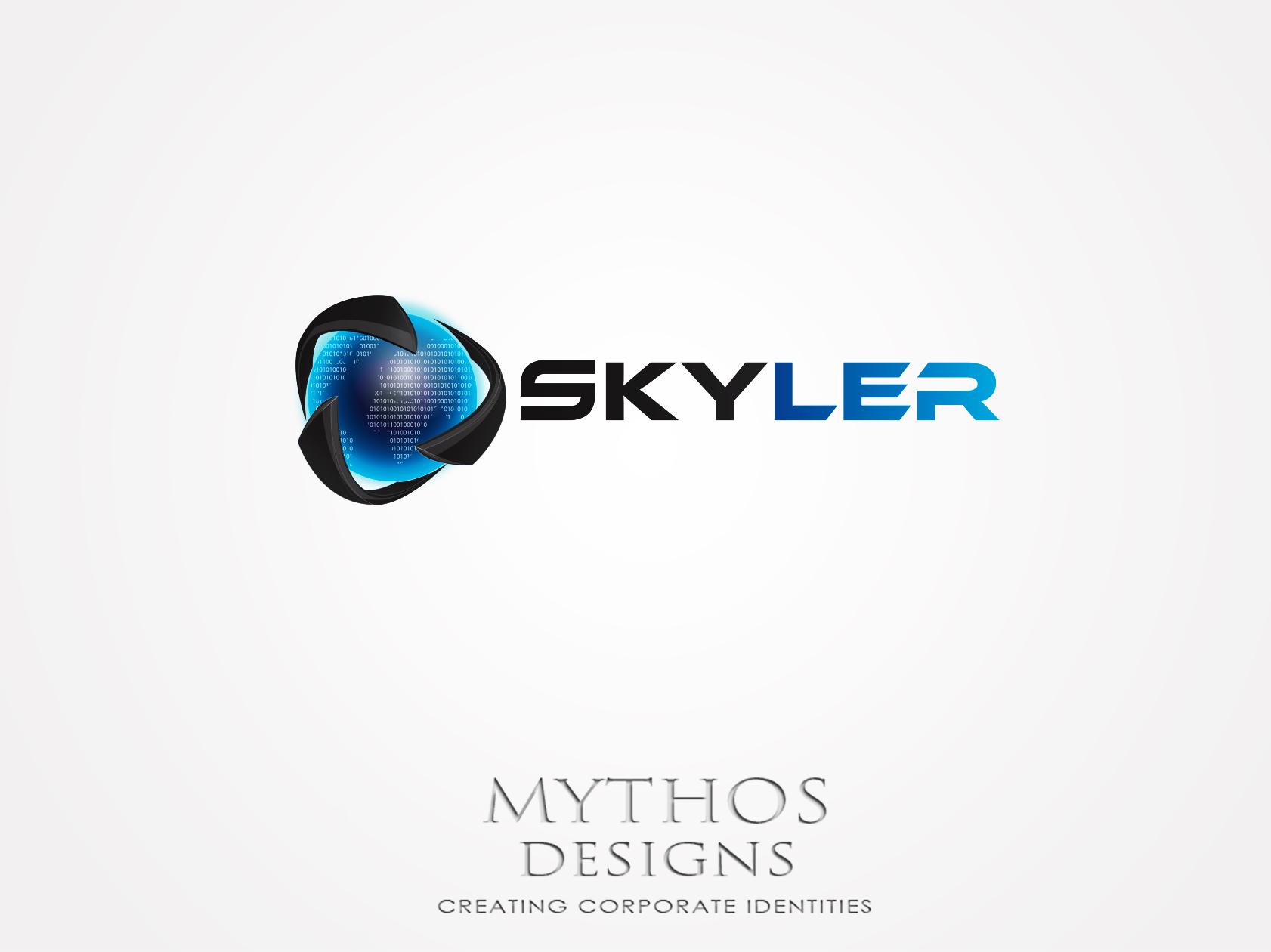 Logo Design by Mythos Designs - Entry No. 147 in the Logo Design Contest Artistic Logo Design for Skyler.Asia.