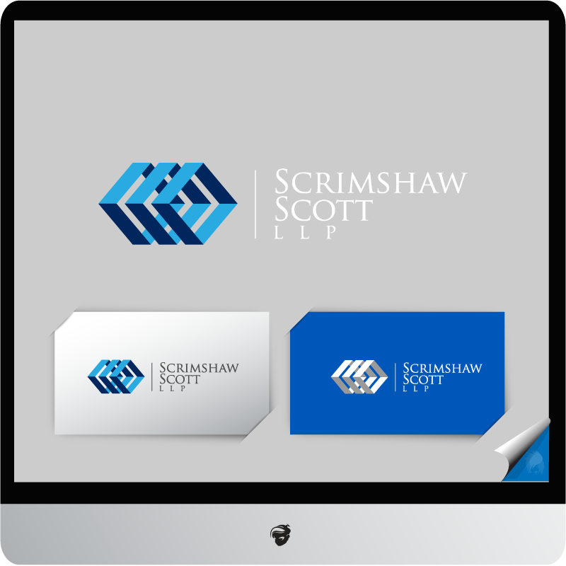 Logo Design by zesthar - Entry No. 8 in the Logo Design Contest Creative Logo Design for Scrimshaw Scott LLP.