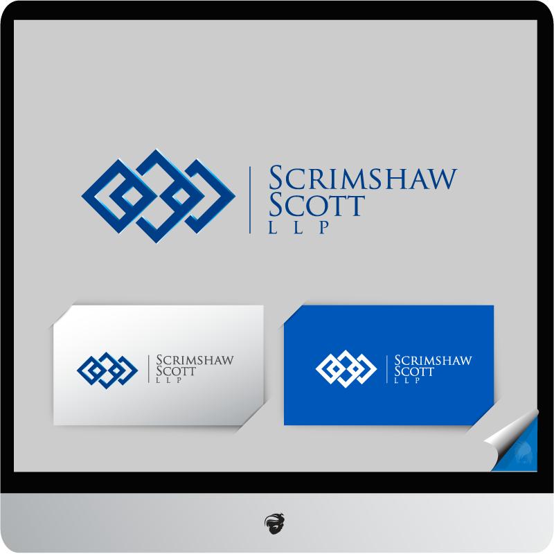 Logo Design by zesthar - Entry No. 9 in the Logo Design Contest Creative Logo Design for Scrimshaw Scott LLP.