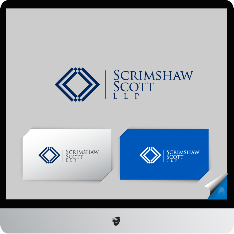 Logo Design by zesthar - Entry No. 10 in the Logo Design Contest Creative Logo Design for Scrimshaw Scott LLP.
