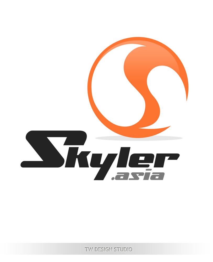 Logo Design by Robert Turla - Entry No. 152 in the Logo Design Contest Artistic Logo Design for Skyler.Asia.