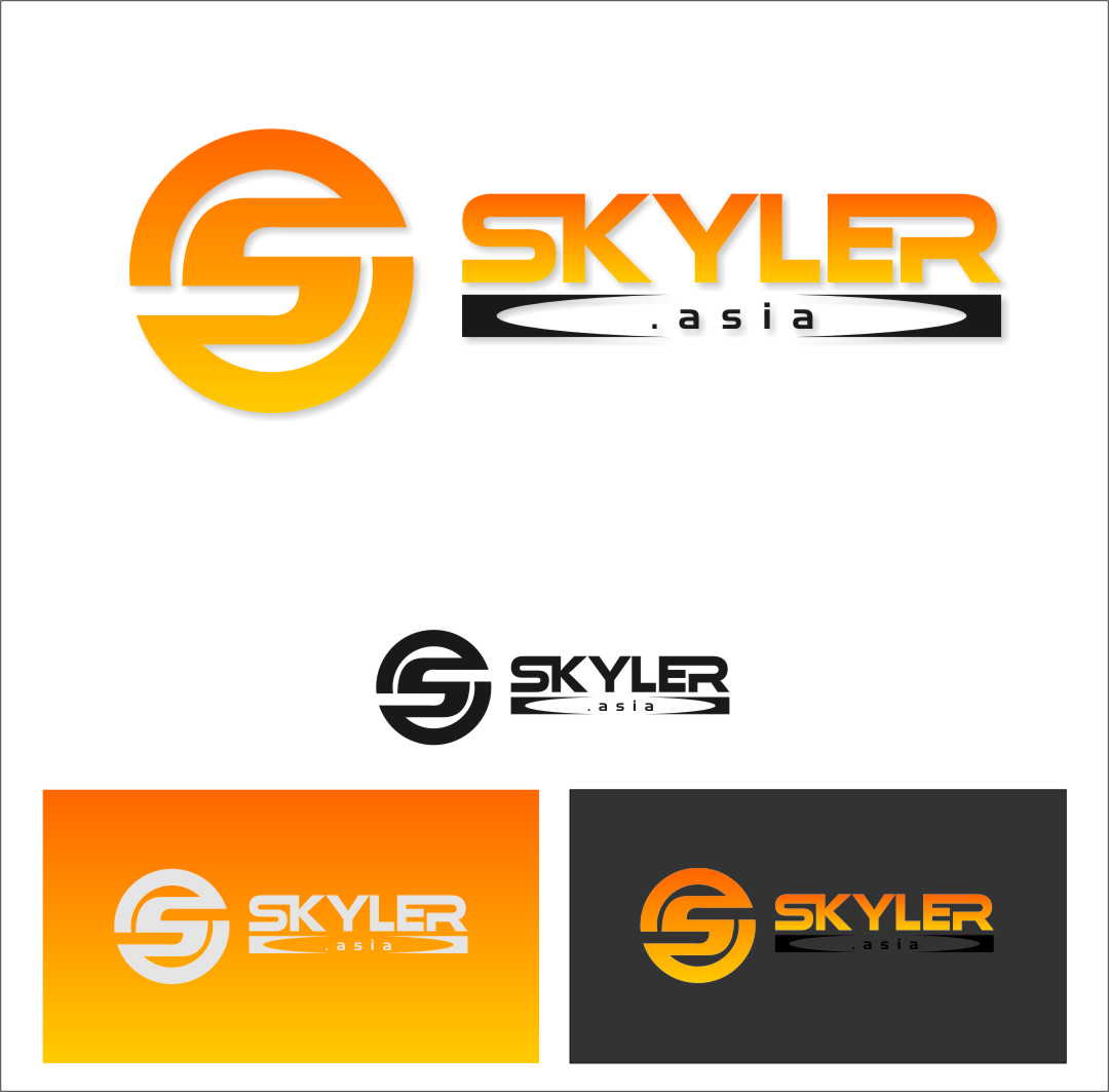 Logo Design by Ngepet_art - Entry No. 154 in the Logo Design Contest Artistic Logo Design for Skyler.Asia.