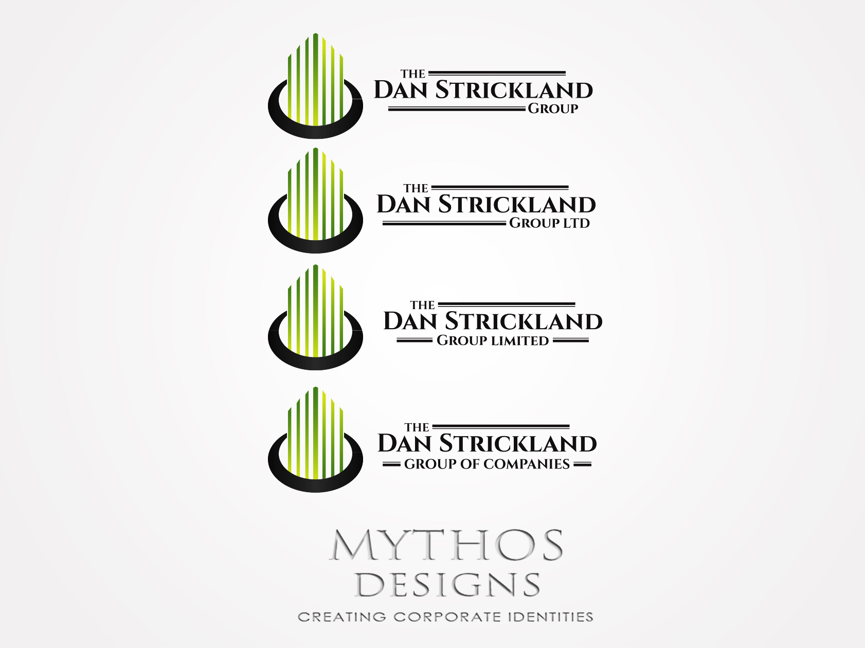Logo Design by Mythos Designs - Entry No. 41 in the Logo Design Contest Creative Logo Design for The Dan Strickland Group.