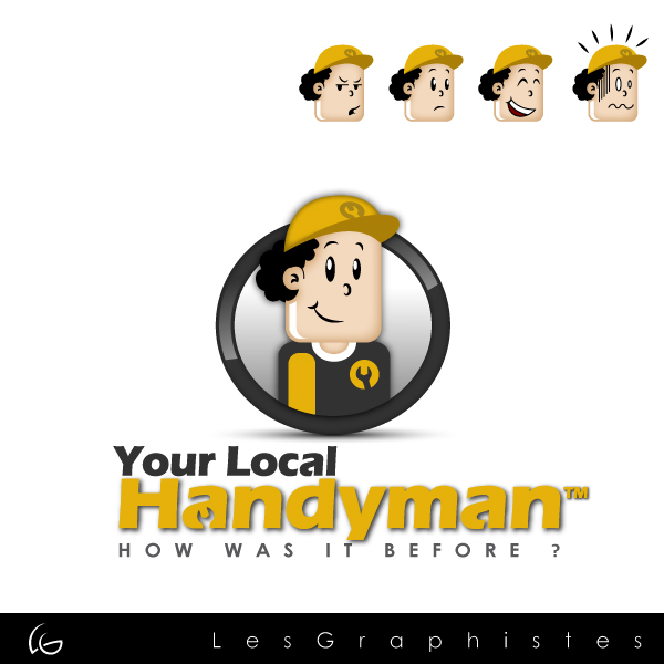 Logo Design by Les-Graphistes - Entry No. 14 in the Logo Design Contest YourLocalHandyman.
