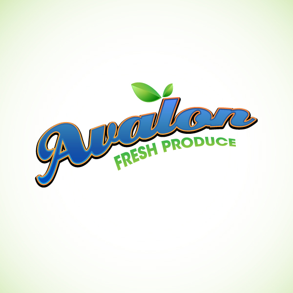 Logo Design by lumerb - Entry No. 36 in the Logo Design Contest Unique Logo Design Wanted for Avalon Fresh Produce.
