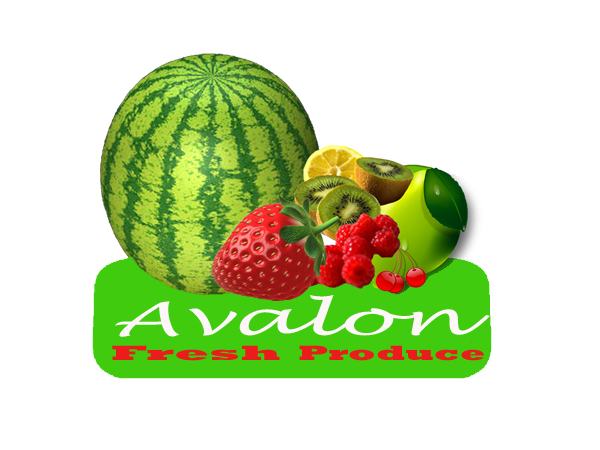 Logo Design by Ravi Medaraboina - Entry No. 45 in the Logo Design Contest Unique Logo Design Wanted for Avalon Fresh Produce.