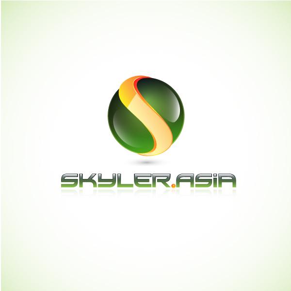 Logo Design by lumerb - Entry No. 173 in the Logo Design Contest Artistic Logo Design for Skyler.Asia.