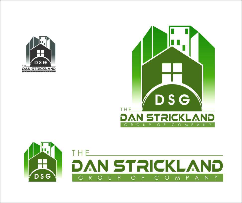 Logo Design by Ngepet_art - Entry No. 64 in the Logo Design Contest Creative Logo Design for The Dan Strickland Group.