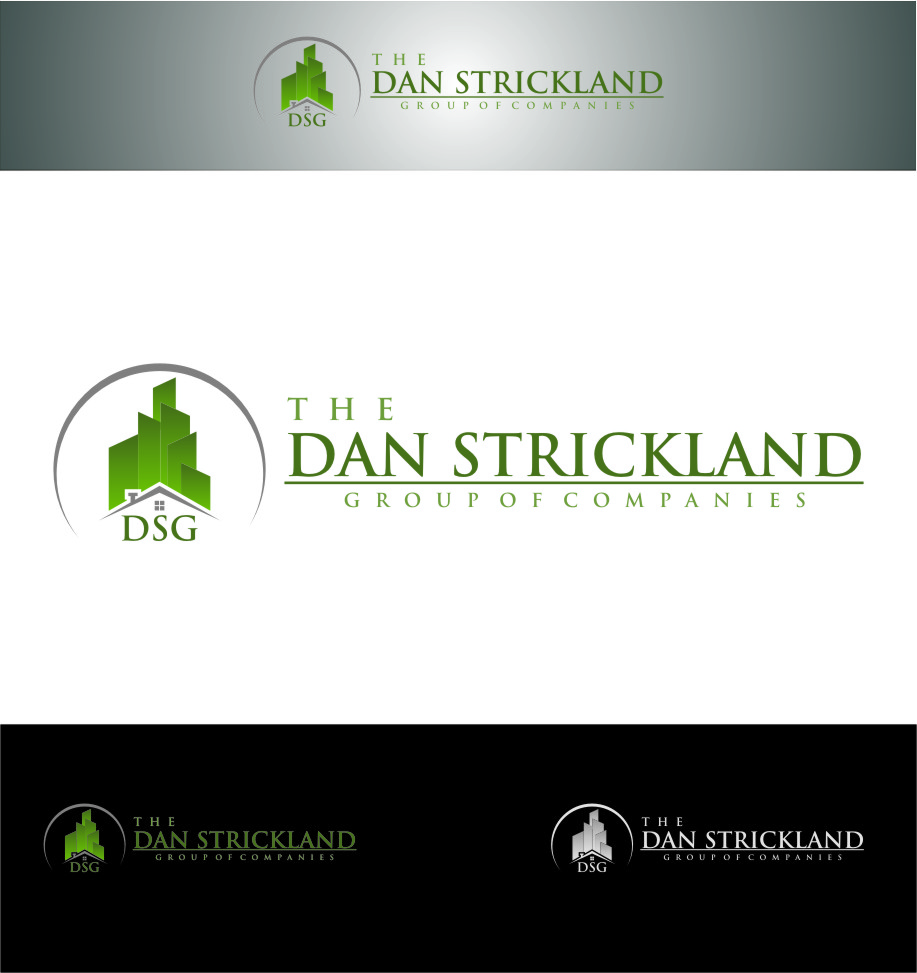 Logo Design by RasYa Muhammad Athaya - Entry No. 65 in the Logo Design Contest Creative Logo Design for The Dan Strickland Group.