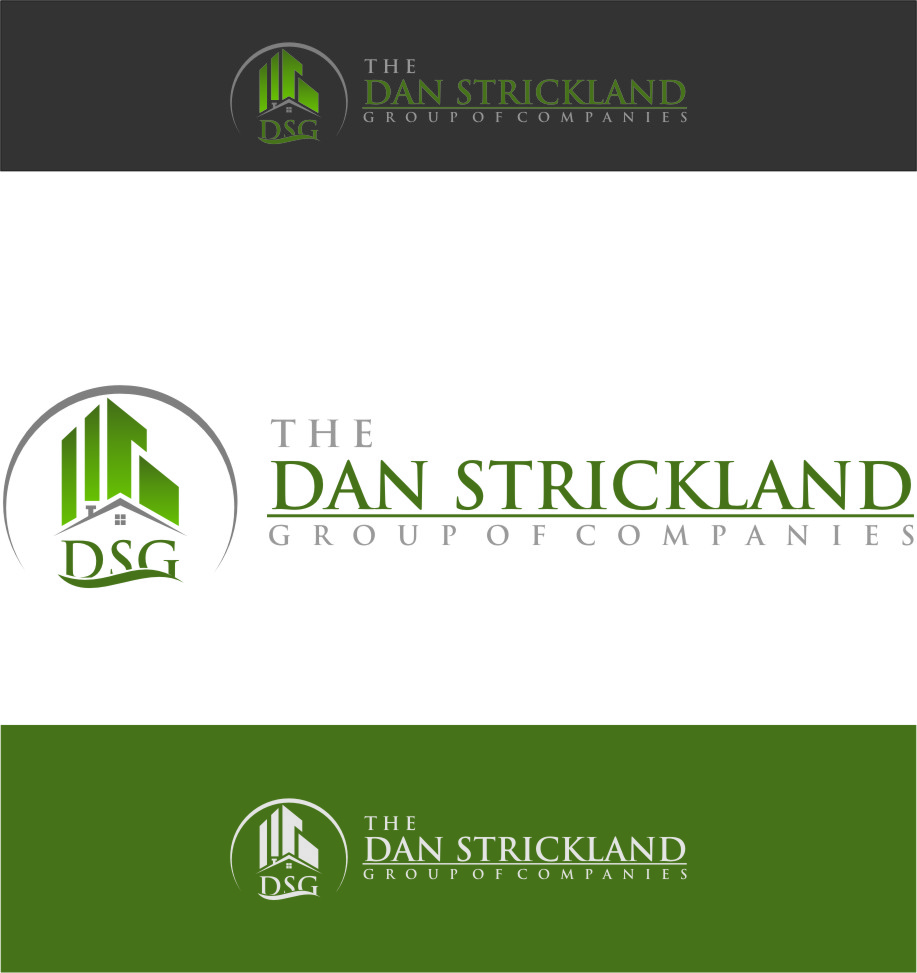 Logo Design by Ngepet_art - Entry No. 72 in the Logo Design Contest Creative Logo Design for The Dan Strickland Group.